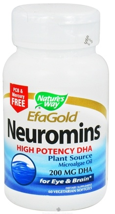 DROPPED: Nature's Way - Neuromins DHA 200 mg. - 60 Softgels