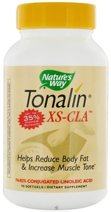 DROPPED: Nature's Way - Tonalin XS Cla CLEARANCE PRICED 1000 mg. - 90 Softgels