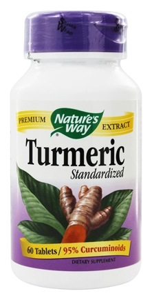 Nature's Way - Turmeric Standardized Extract - 60 Tablets