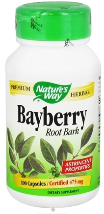 DROPPED: Nature's Way - Bayberry Root Bark - 100 Capsules CLEARANCE PRICED
