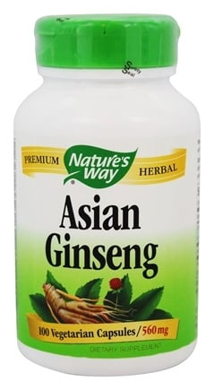 Nature's Way - Ginseng Korean 560 mg. - 100 Capsules
