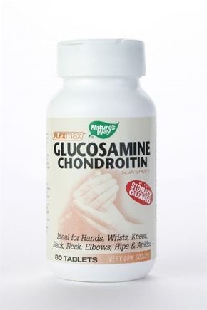 DROPPED: Nature's Way - Glucosamine Chondroitin - 80 Tablets