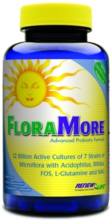 DROPPED: ReNew Life - FloraMore Advanced Probiotic 12 Billion - 120 Vegetarian Capsules