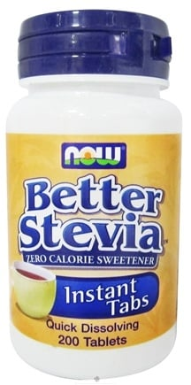 DROPPED: NOW Foods - Stevia Instant Tabs - 200 Tablets
