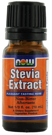 DROPPED: NOW Foods - Stevia Liquid Extract Trial Size - 10 ml.