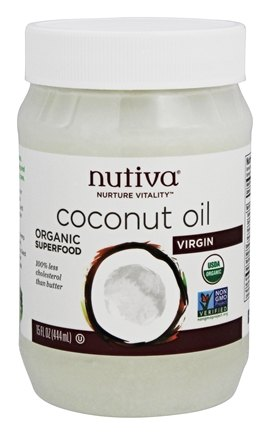 Nutiva - Coconut Oil Organic Virgin - 15 oz.