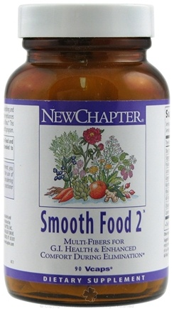 DROPPED: New Chapter - Smooth Food 2 - 90 Vegetarian Capsules