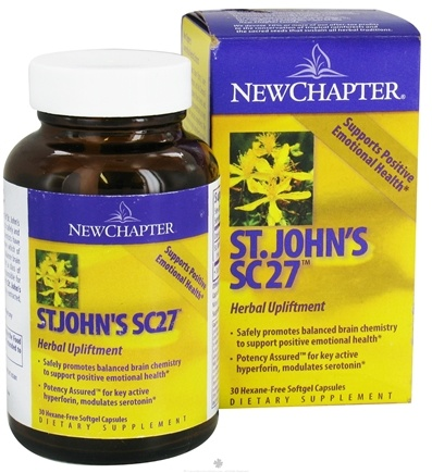 DROPPED: New Chapter - Saint John's SC27 - 30 Softgels