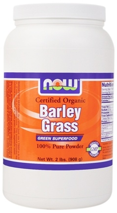 DROPPED: NOW Foods - Barley Grass Powder - 2 lbs.