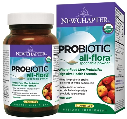 DROPPED: New Chapter - Probiotic All-Flora Powder - 2.1 oz.