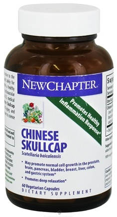 DROPPED: New Chapter - Chinese Skullcap - 60 Vegetarian Capsules