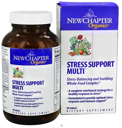 DROPPED: New Chapter - Stress Support Multi - 90 Tablets