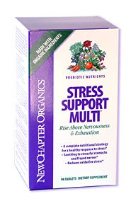 DROPPED: New Chapter - Stress Support Multi - 30 Tablets