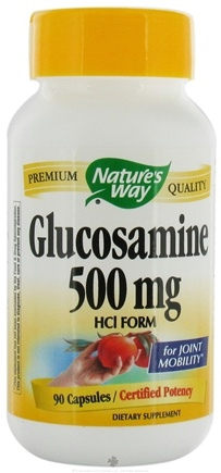DROPPED: Nature's Way - Glucosamine HCl 500 mg. - 90 Capsules