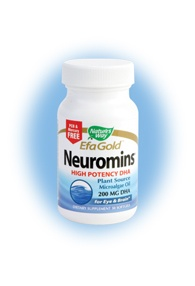 DROPPED: Nature's Way - Neuromins DHA 200 mg. - 30 Softgels