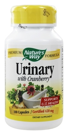 Nature's Way - Urinary With Cranberry 415 mg. - 100 Capsules