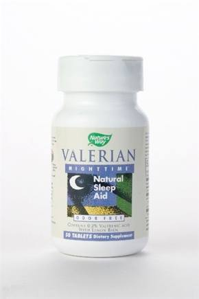 DROPPED: Nature's Way - Valerian Nighttime - 50 Tablets