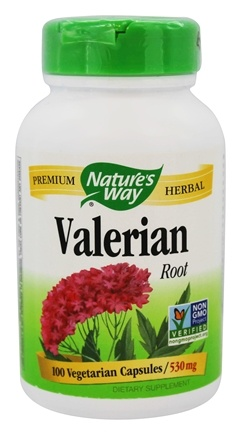 Nature's Way - Valerian Root 530 mg. - 100 Vegetarian Capsules
