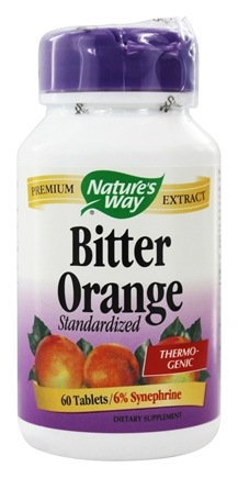 Nature's Way - Bitter Orange Standardized Extract - 60 Tablets