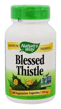 Nature's Way - Blessed Thistle Herb - 100 Capsules