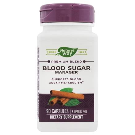 Nature's Way - Blood Sugar Metabolism Blend with Cinnamon & Gymnema 386 mg. - 90 Capsules