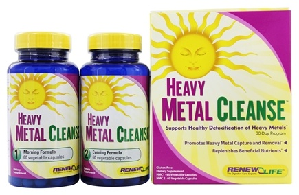 DROPPED: Renew Life - Heavy Metal Cleanse 30-Day Program - 120 Capsules