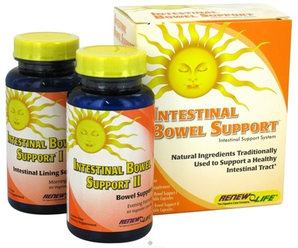 DROPPED: ReNew Life - Intestinal Bowel Support System Kit - 60 Capsules