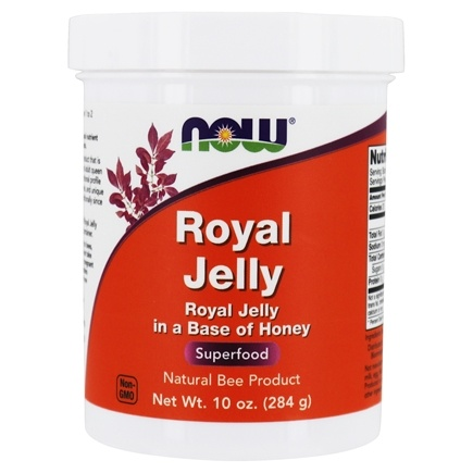 NOW Foods - Royal Jelly, Fresh 30000 mg. - 10 oz.