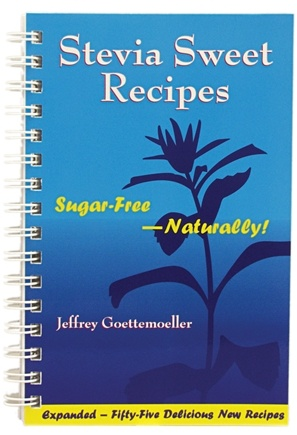 DROPPED: NOW Foods - Stevia Sweet Recipes Revised 204 pg. Book - 1 Book CLEARANCE PRICED