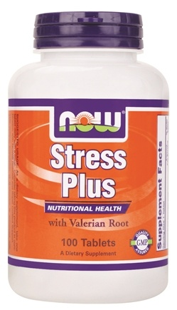 DROPPED: NOW Foods - Stress Plus Vegetarian Formula - 100 Tablets