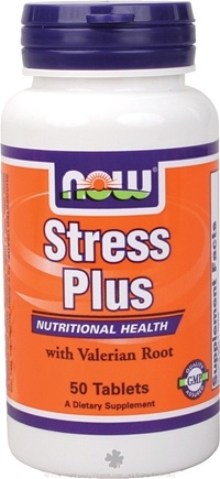 DROPPED: NOW Foods - Stress Plus, Vegetarian - 50 Tablets