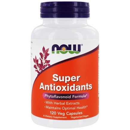 NOW Foods - Super Antioxidants - 120 Vegetarian Capsules