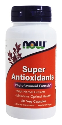 NOW Foods - Super Antioxidants - 60 Vegetarian Capsules