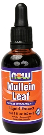 DROPPED: NOW Foods - Mullein Leaf Liquid Extract - 2 oz.
