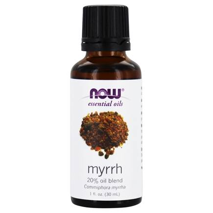 NOW Foods - Myrrh Oil Blend 100% Natural - 1 oz.