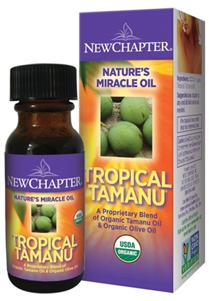 DROPPED: New Chapter - True Tamanu Oil - 1 oz.