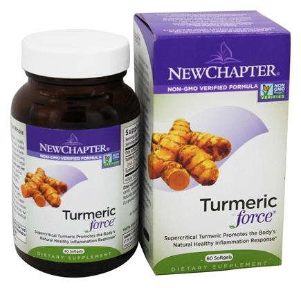 DROPPED: New Chapter - Turmeric Force - 60 Softgels