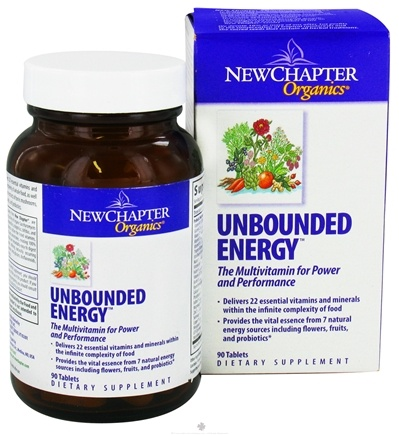 DROPPED: New Chapter - Unbounded Energy - 90 Tablets