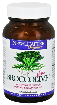 DROPPED: New Chapter - Broccolive Plus - 90 Vegetarian Capsules