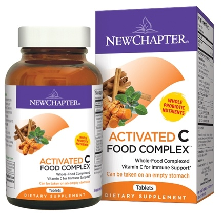 DROPPED: New Chapter - C Food Complex - 30 Tablets