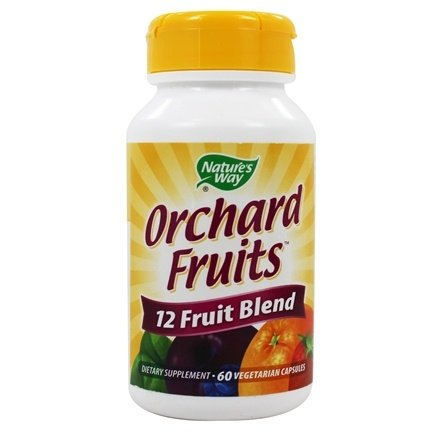 Nature's Way - Orchard Fruits - 60 Vegetarian Capsules