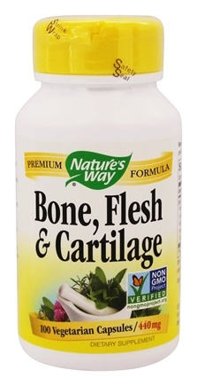 Nature's Way - Bone, Flesh & Cartilage 440 mg. - 100 Vegetarian Capsules