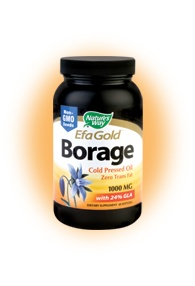DROPPED: Nature's Way - Borage Oil 1000 mg. - 60 Softgels