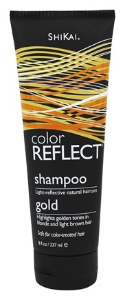 Shikai - Color Reflect Gold Shampoo - 8 oz.