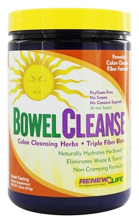 Renew Life - Organic Bowel Cleanse Powder - 13.3 oz.