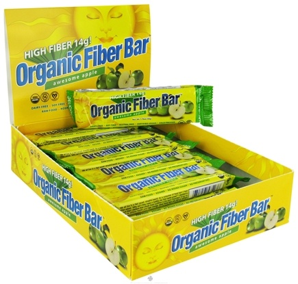 DROPPED: ReNew Life - Organic Fiber Bar Awesome Apple - 1.76 oz. CLEARANCE PRICED