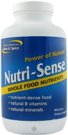 DROPPED: North American Herb & Spice - Nutri-Sense - 400 Grams