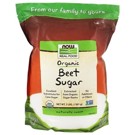 NOW Foods - Beet Sugar - 3 lbs.