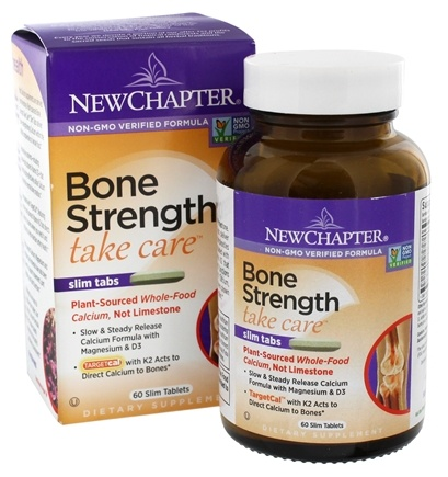 New Chapter - Bone Strength Take Care - 60 Tablets