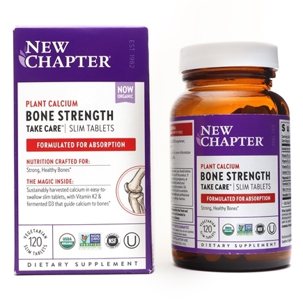 New Chapter - Bone Strength Take Care - 120 Slim Tablets